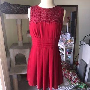 Esley Red Dress